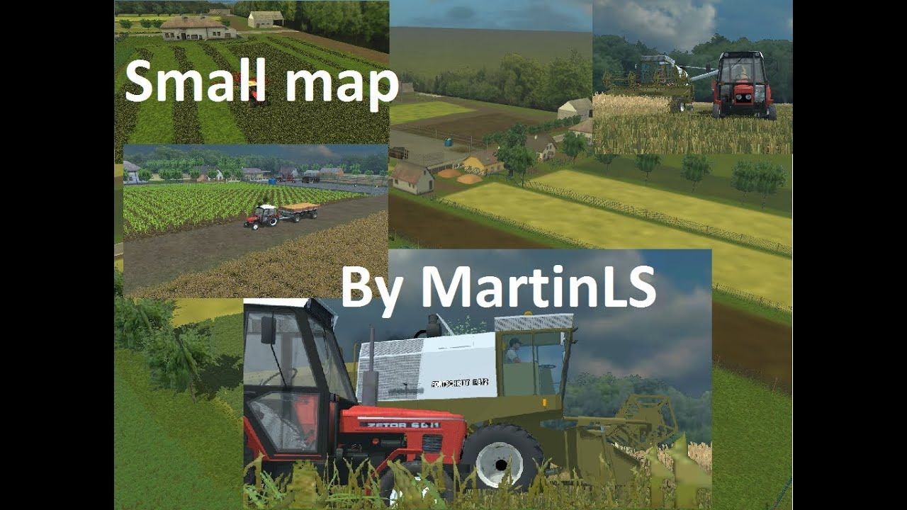Farming Simulator 2013 Small map by