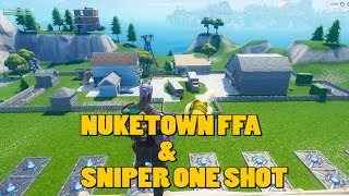 Fortnite Creative Sniper Map Code & Nuketown Code | #7