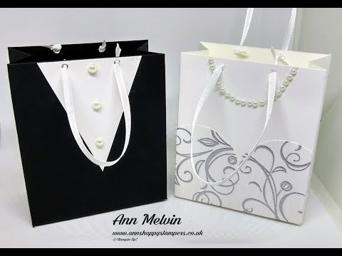 #1 Wedding Week Bride & Groom Favor Bags