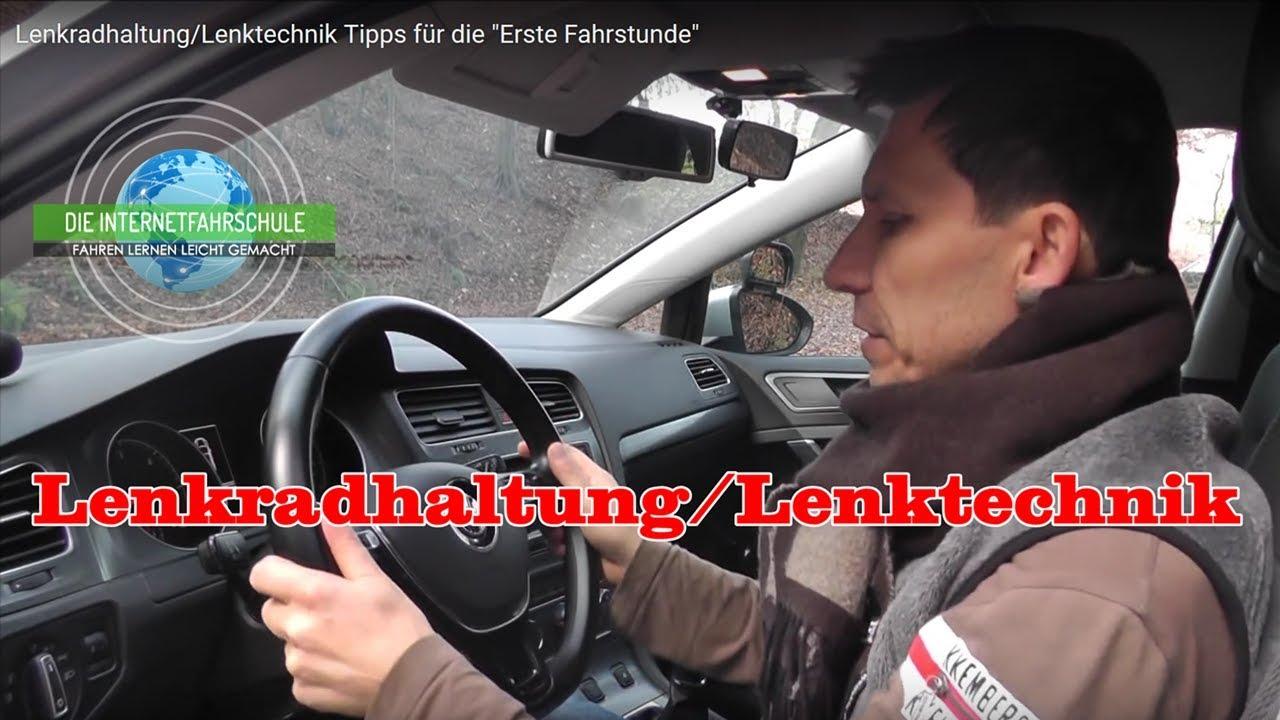 """Download Lenkradhaltung/Lenktechnik Tipps für die """"Erste Fahrstunde"""""""