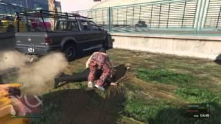 GTA Online: FUNNY DEMOLITION DERBY