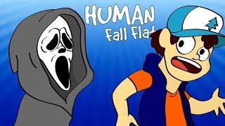 NAJSTRASZNIEJSZA MAPA W HUMAN FALL FLAT! @Admiros @Flothar