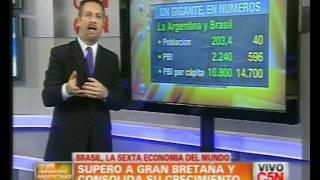 C5N - ECONOMIA: BRASIL, LA 6TA ECONOMIA DEL MUNDO