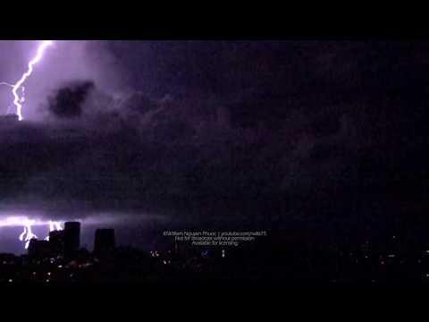 Incredible Lightning @ 2000FPS - Darwin Australia - 20 Nov 2018