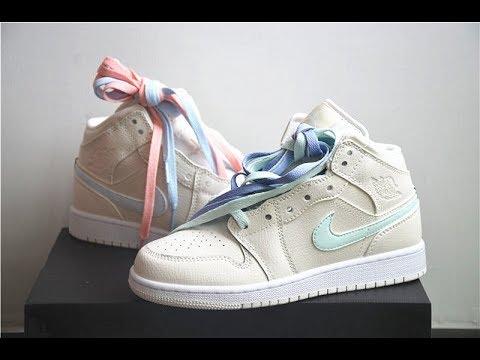 9847a99a47a Jordan 1 Mid Multi-Color Swoosh Phantom from www.goodsneaker.club ...