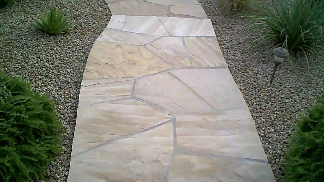 How To Seal Flagstone   Apply Sealer To Stone , Brick , Tile Etc   YouTube