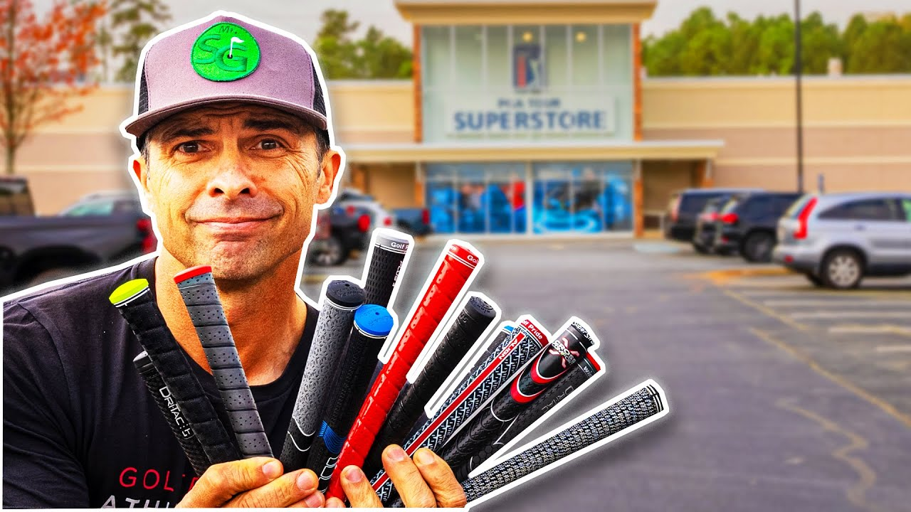 I BOUGHT EVERY GOLF GRIP and was Shocked by the Best One