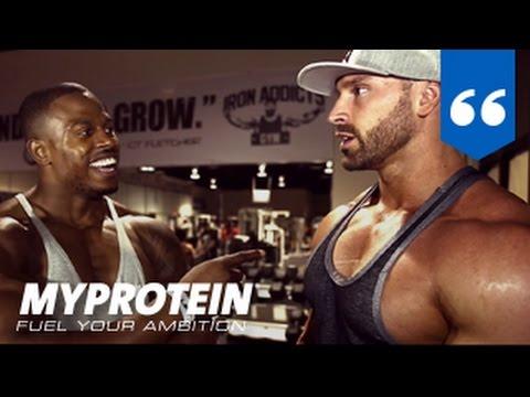 Olympia 2015 Interview with Simeon Panda & Bradley Martyn by Myprotein