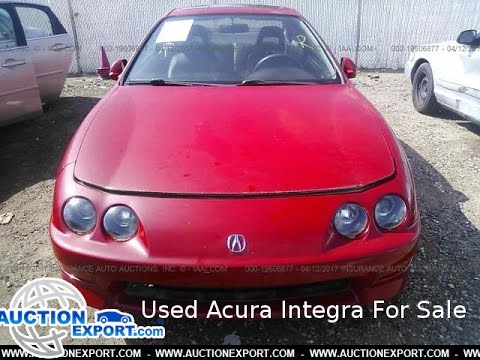 Used Acura Integra For Sale Car Shipping From USA YouTube - Used acura integra for sale