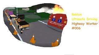 Roblox: Ultimatives Fahren | Autobahnarbeiter #007 | Feuerunterstützung | [Huski/Deutsch]