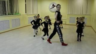 Видео-урок (I-семестр: декабрь 2017г.) - филиал Центральный, группа 3-6 лет, Детская Шоу-хореография