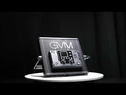 GVM 520S-B Bi-Color LED Studio Video Light Panel Kit