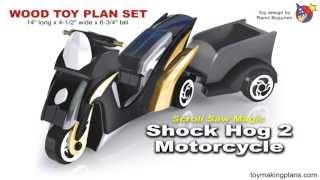 Wood Toy Plans - Shock Hog-2 Chopper