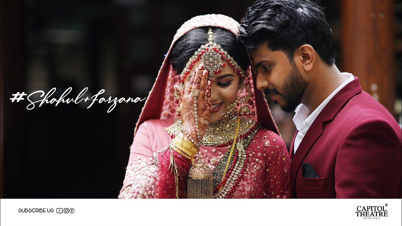 KERALA MUSLIM WEDDING TEASER   SHAHUL + FARZANA   CAPITOL THEATRE   EMARALD RESORT