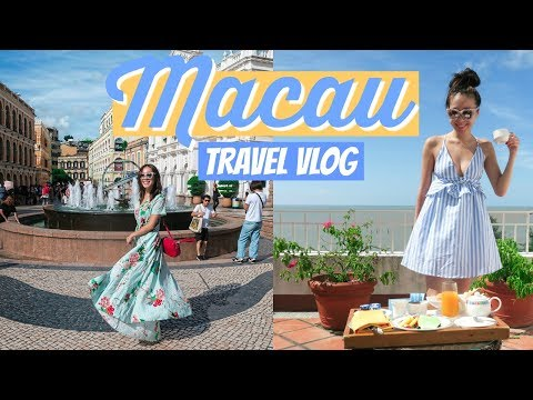 2 DAYS IN MACAU | Travel VLOG