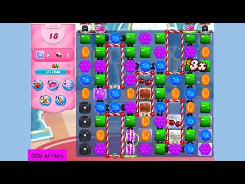 Candy Crush Saga Level 3273 NO BOOSTERS Cookie