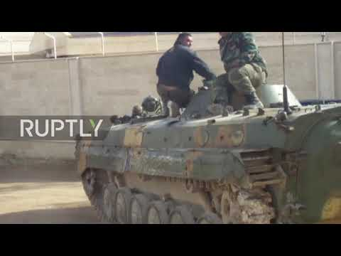 Syria: SAA resume operation into Eastern Ghouta
