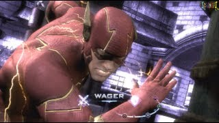 Injustice Gods Among Us The Flash All Unique Clash Quotes
