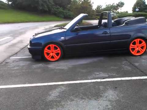 golf mk3 cabrio tdi conversion bradford youtube. Black Bedroom Furniture Sets. Home Design Ideas