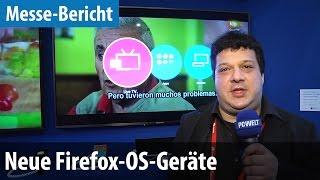 Smart-TV & Rundes Smartphone mit Firefox OS | deutsch / german