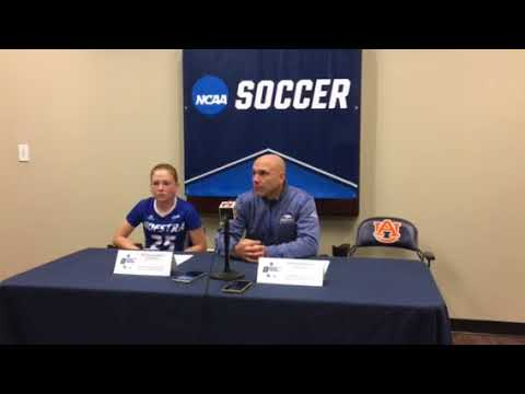 WSOC: Hofstra Postgame Press Conference At Auburn - NCAA First Round (11/10/17)