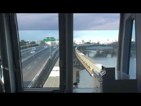 【FHD全区間前面展望】東京モノレール羽田空港線 空港快速モノレール浜松町行 羽田空港第2ビル→モノレール浜松町 Japan Tokyo Train View Tokyo Monorail Line