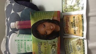 Unboxing Africa's Best Organics Olive Oil Conditioning Relaxer System Value Pack No-Lye Super