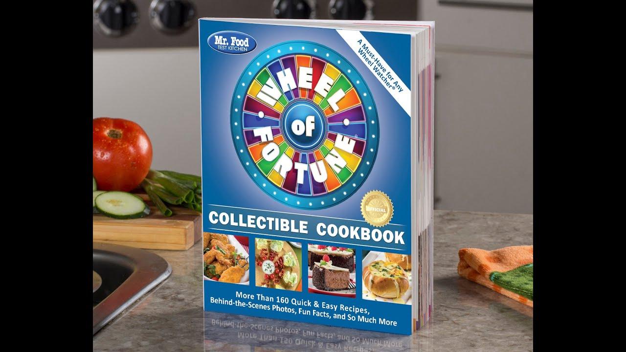 Wheel Of Fortune Cookbook Trailer 2 - YouTube