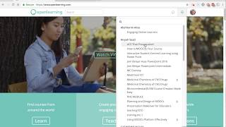 1-minute tutorial: How to hide (un-display) courses on Openlearning