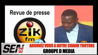 Revue de Presse Wolof Mame Mbaye Ndiaye du 03 Mai 2019 Zik fm