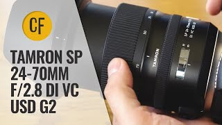 tamron SP 24-70mm f/2.8 Di VC USD G2 lens review with samples (Full-frame & APS-C)