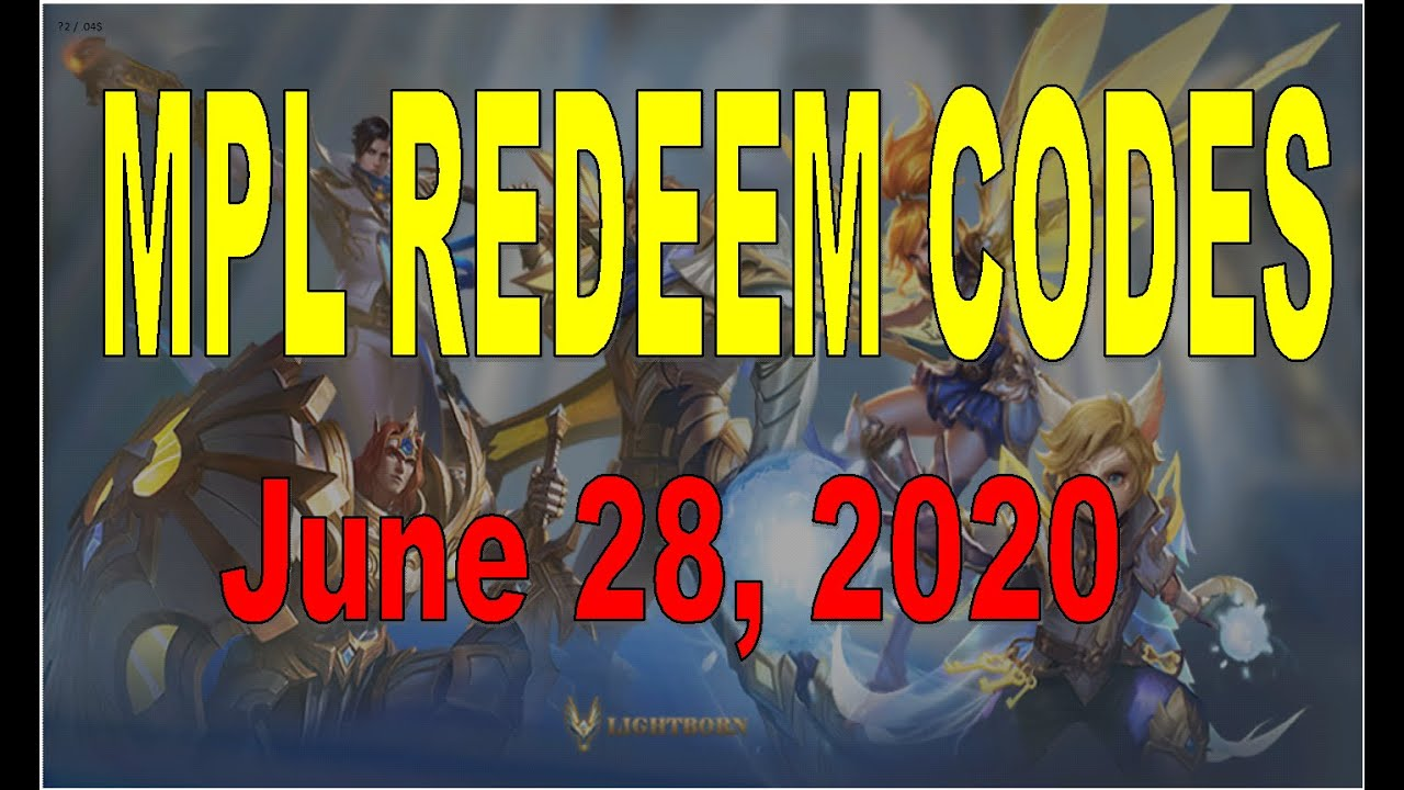 MPL-PH Champion Invitational Redeem Codes (MLBB) - YouTube