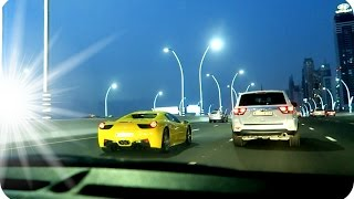 MO VLOGS CAUGHT SPEEDING IN A FERRARI !?!