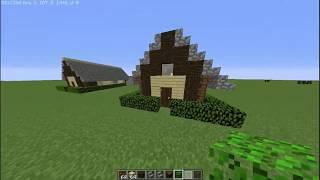 Survival için Modern Başlangıç Evi Yapımı? - Minecraft