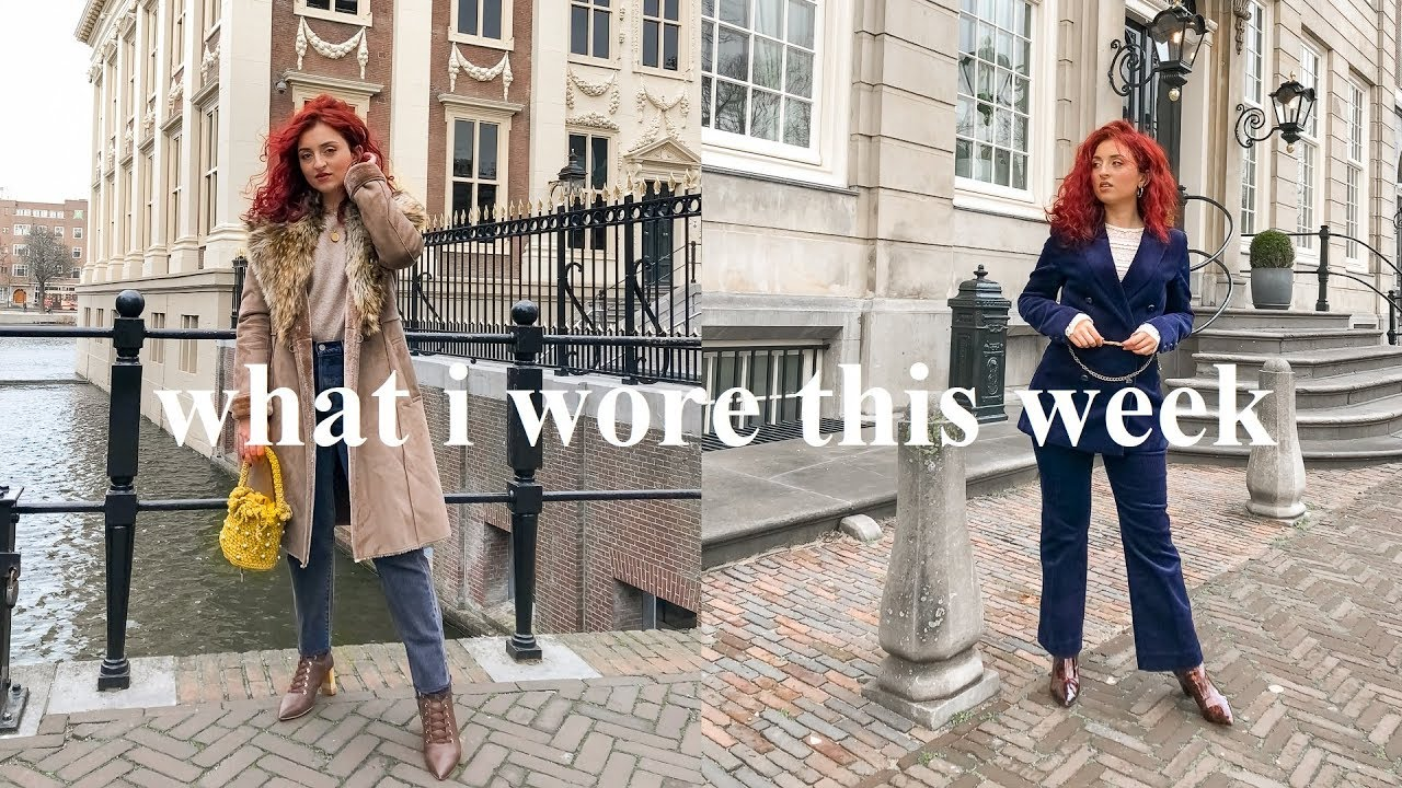 WHAT I WORE THIS WEEK   Winter Outfits Lookbook 1