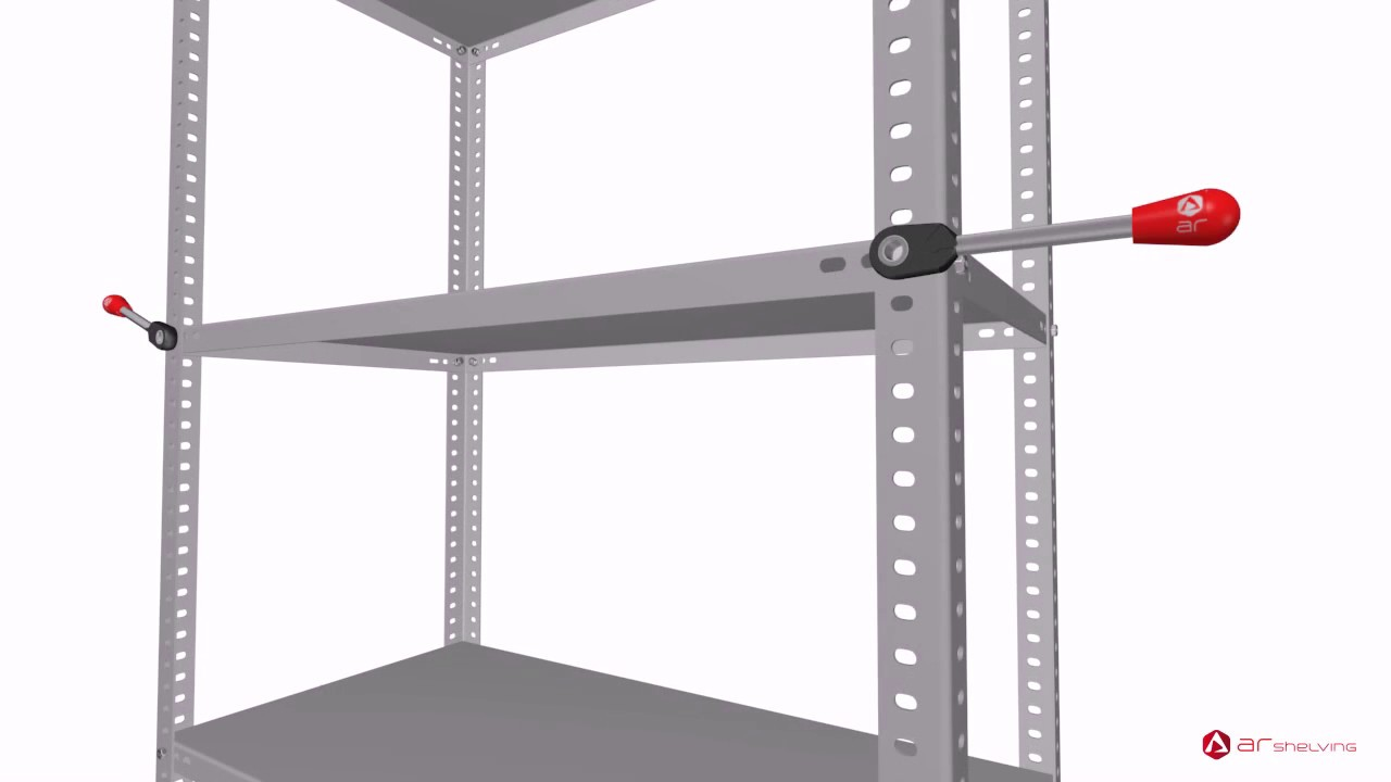 Modular Bolted Metal Shelving Assembly Instructions By Ar Shelving