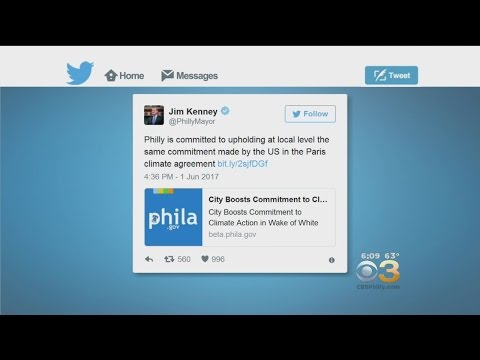 Mayor Kenny: Philly Upholds US Commitment In Paris Climate Agreement