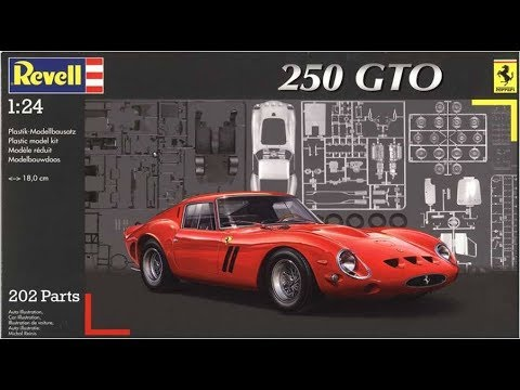 How To Build The Ferrari 250 Gto 1 24 Scale Revell Model Kit 07077 Review Youtube