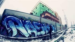 Rasko street bombing video. Graffiti from Russia.