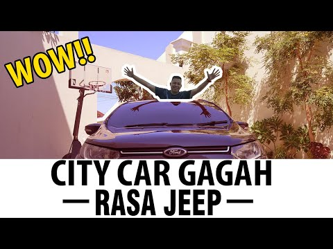 WOW!!! City Car Gagah Rasa Jeep | Review Ford EcoSport
