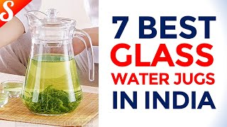 7 Best Selling Glass Water Jugs for Your Home | Glass Pitcher with Lid