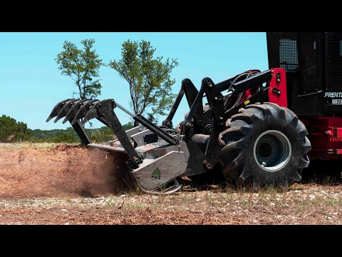 On Site Ep. 2: Forestry Mulching With Timber Wolf Land Clearing - FAE 200/U 225 TX On Prentice 2670D
