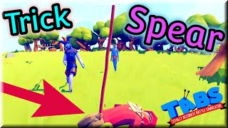 Trick & Spear! Jester🃏 & Spear Thrower vs Every Unit 2v1 - TABS Renaissance Update