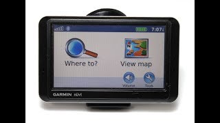 Tutorial On How To Use or Operate a Garmin Nuvi 750 760 GPS Navigation System