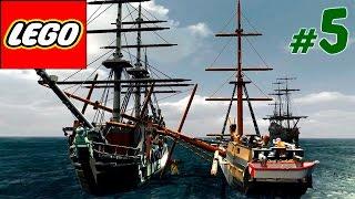 Джек Воробей попал в беду [5] Лего игра как мультик Пираты Карибского моря(Смешная озвучка прохождения игры в виде лего мультика