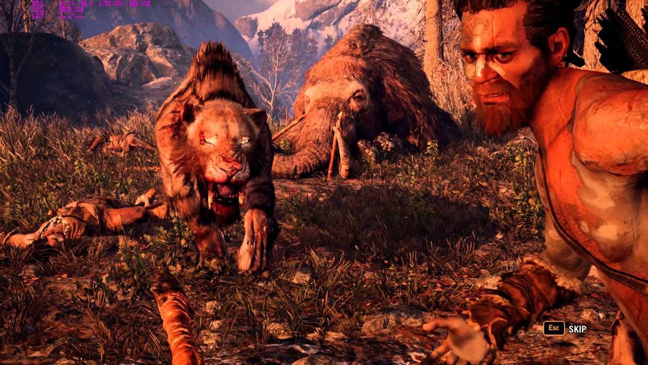 Far Cry Primal PC Max Settings 4K GTX980Ti SLI Gameplay