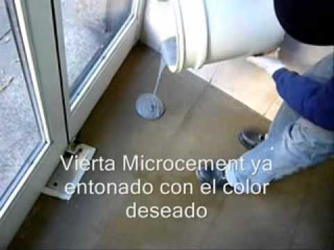 Cmo utilizar microcemento listo para aplicar Sodimac Homecenter