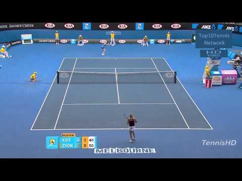 Petra Kvitova vs Vera Zvonareva - Australian Open 2011.