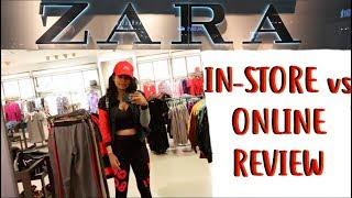 Zara Online Review - Zara In Store vs Zara Online Try On Haul India 2018 | AdityIyer