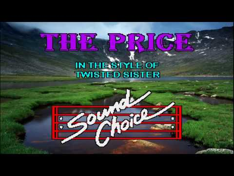Karaoke Twisted Sister - The Price